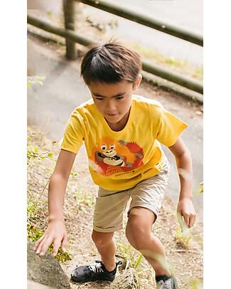 Coq en Pâte T-Shirt Orangotango, Giallo - 100% Cotone Bio T-Shirt e Canotte