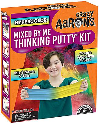 Crazy Aaron Kit di Pasta Magica Hypercolor Mixed by me, Tanti Diversi Colori! - Divertente e Sicuro Giochi all'Aperto