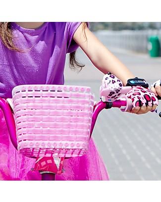 Crazy Safety Campanello per Bicicletta, Leopardo Rosa - Per Pedalare in Sicurezza! Biciclette