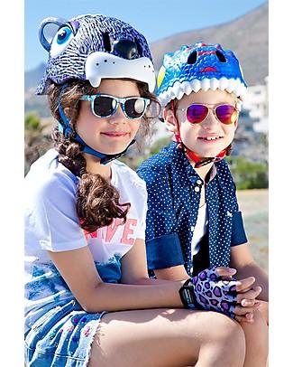 Crazy Safety Casco Bicicletta Bambino, Drago Blu - Colorato, Leggero e Indistruttibile! Biciclette