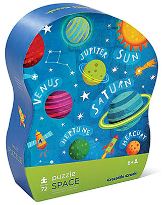Crocodile Creek Junior Puzzle, Sistema Solare - 72 pezzi! Puzzle