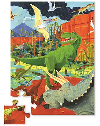 Crocodile Creek Mini-Puzzle, Dinosauri - 24 pezzi! Puzzle