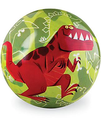 Crocodile Creek Palla di Gomma (10 cm) - Dinosauro Giochi Da Spiaggia