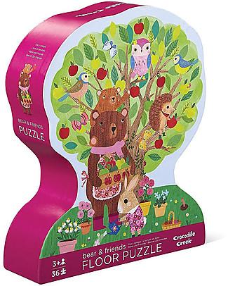 Crocodile Creek Puzzle 36 Pezzi, Orsetto - Bellissima Scatola Illustrata e Fantastica Idea Regalo! Puzzle