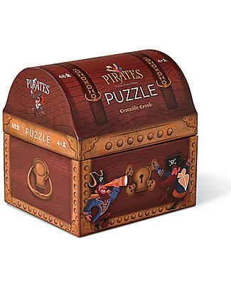 Crocodile Creek Puzzle Forziere dei Pirati, 48 pezzi! Puzzle