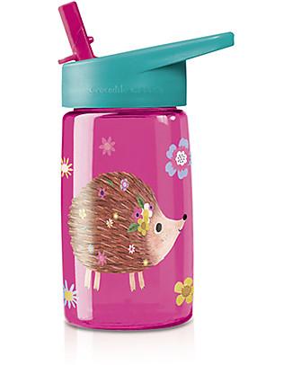 Crocodile Creek Tritan Children's Drinking Bottle 500 ml, Hedgehog - Safe and recyclable! Metal Bottles