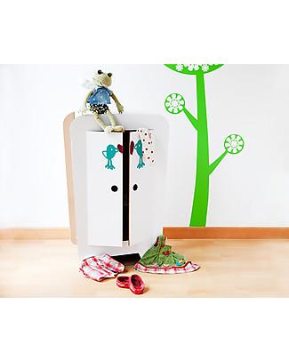 Decoramo Armando, Armadio per Bambole in Cartone - Alto 72 cm! Carta e Cartone