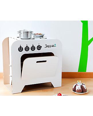Decoramo Cucina in Cartone Zoffas - Alta 50 cm! Carta e Cartone