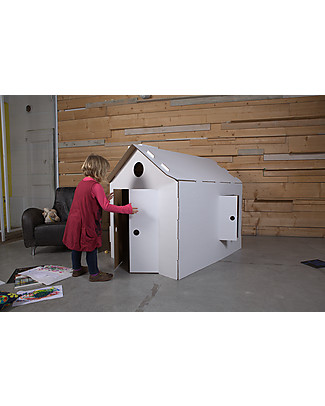 Decoramo Mìcasa, Casa in Cartone Riciclato – Alta 85 cm! Carta e Cartone