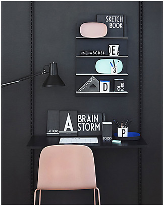 """Design Letters & Friends Planner Settimanale, A4 – Collezione """"AJ Vintage ABC"""" by Arne Jacobsen Kit Fai Da Te"""