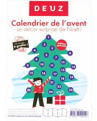 Deuz Calendario dell'Avvento da 'grattare'!- Paesaggio Invernale Calendari Dell'Avvento