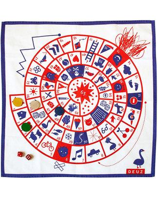 Deuz Il Super Gioco Dell'Oca - Cotone Biologico 100% Giochi Da Tavolo