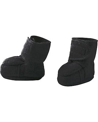 Disana Pantofoline in lana cotta, Antracite Pantofole