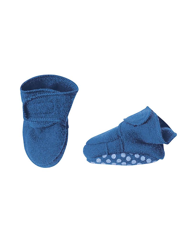 colore veloce 100% qualità tra qualche giorno Disana Pantofoline in Lana Cotta, Celeste unisex (bambini)