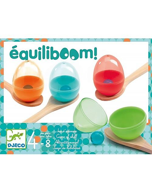 Djeco Gioco di Equilibrio, Equiliboom - Non far Cadere l'Uovo! Giochi all'Aperto