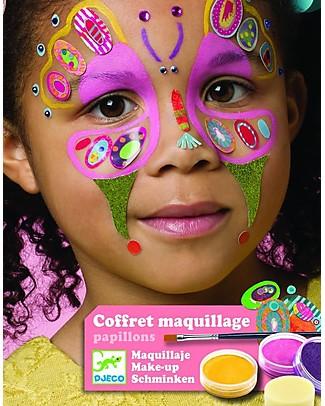 Djeco Set Truccabimbi per il viso - Farfalla Tatuaggi