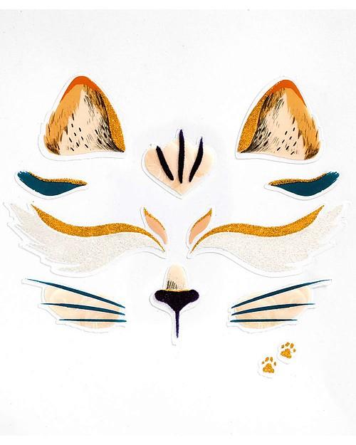 Djeco Tattoo per il viso - Animali, Gatto Tatuaggi