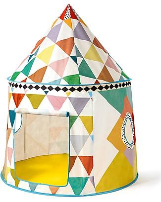 Djeco Tenda Multicolor, con Oblò - 106 x 130 cm Tende Gioco