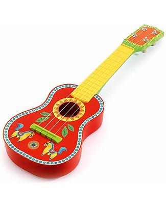 Djeco Ukulele Musicale, Animambo - Legno Strumenti Musicali