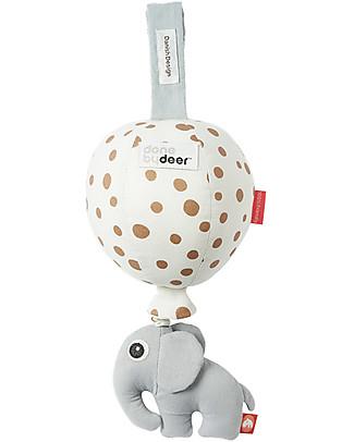 Done By Deer Gioco Musicale Balloon, Pois Oro - Cotone Giochi Per Neonati