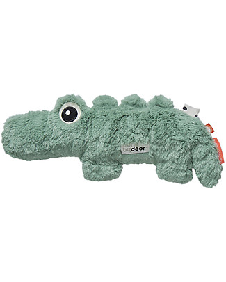 Done By Deer Peluche Cuddle Cute - Croco - Verde - Dalla Nascita Doudou