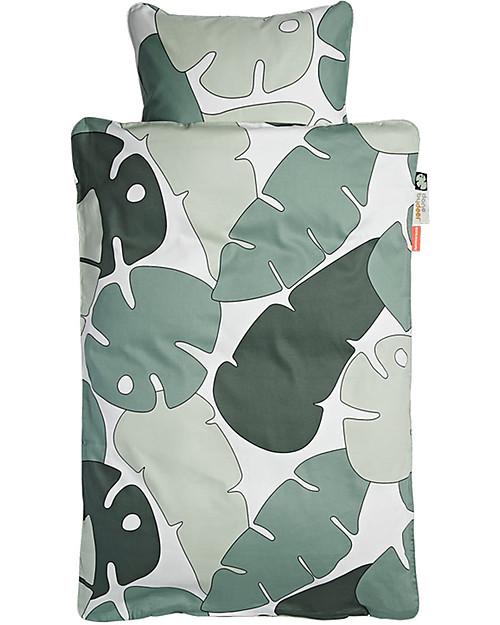Done By Deer Set Copripiumino e Federa - Tint Tropics - 70 X 100 cm - 100% Cotone Lenzuola