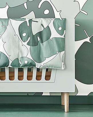 Done by Deer Tiny Tropics Set Copripiumino e Federa - Tiny Tropics - 100 X 135 cm - 100% Cotone Lenzuola