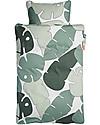 Done by Deer Tiny Tropics Set Copripiumino e Federa Tiny Tropics - Baby 70x100 cm - 100% Cotone Lenzuola