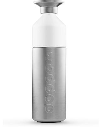 Dopper Borraccia Dopper in Acciaio, Collezione Steel - 800 ml - Senza BPA o ftalati! null