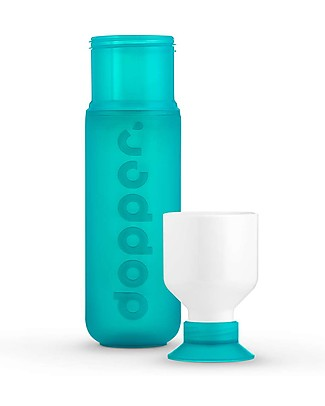 Dopper Borraccia Dopper Original, Collezione Paradise, Verde Mare - 450 ml  Borracce senza BPA