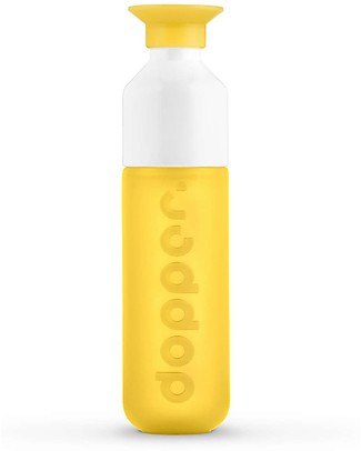Dopper Borraccia Dopper Original, Sunshine Splash - 450 ml -  Senza BPA e senza ftalati! Borracce senza BPA