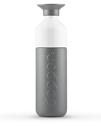Dopper Borraccia Termica Dopper in Acciaio Inossidabile, Grigio - 580 ml - Senza BPA e ftalati! Borracce Termiche
