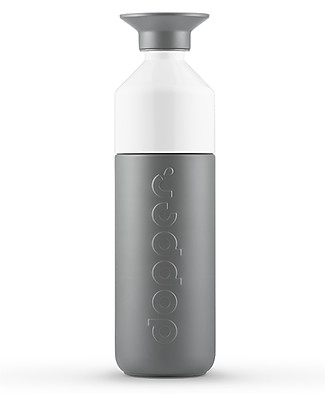Dopper Borraccia Termica Dopper in Acciaio Inossidabile, Grigio - 580 ml - Senza BPA e ftalati! null