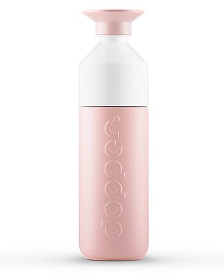 Dopper Borraccia Termica Dopper in Acciaio Inossidabile, Rosa - 580 ml - Senza BPA e ftalati! Borracce Termiche