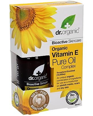 Dr.Organic Olio Puro Complex, 50 ml - per Pelle Secca, Invecchiata o Irregolare Creme e Olii