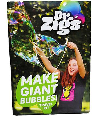Dr Zigs Kit da Viaggio Tascabile, Bacchette e Corda incluse - Per Tutte le Età Giochi all'Aperto