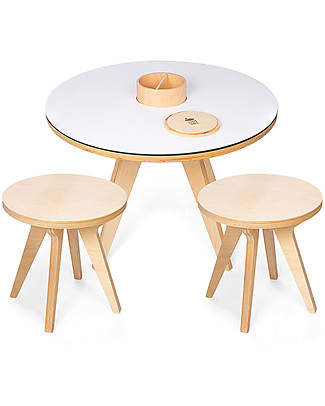 Drawin' Table Drawin' Table, Tavolo da Disegno con Lavagna e Fogli da Colorare - Sgabelli inclusi Tavoli