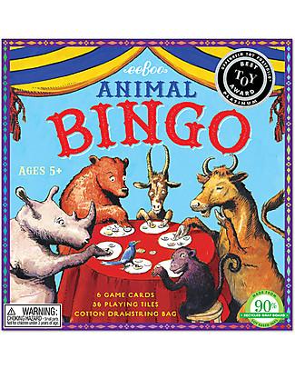 eeBoo Tombola degli Animali - Da 2 a 6 giocatori! Giochi Da Tavolo