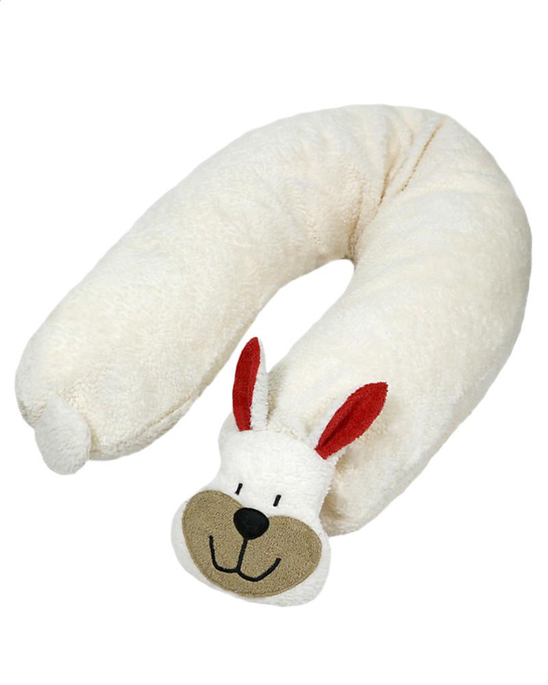 Cuscino Con Pula Di Farro.Efie Cuscino Da Allattamento Con Pula Di Farro Coniglietto Cotone