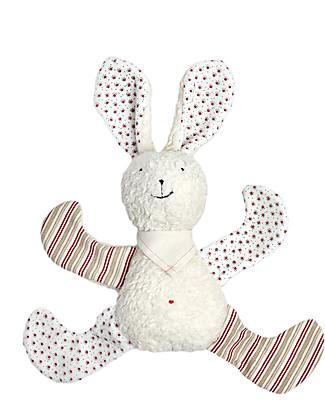 Efie Peluche in Cotone e Lana Bio, Coniglietto – 23 cm, Ottima idea regalo! Peluche