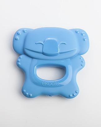 eKoala eKolly - Massaggiagengive Azzurro - Bioplastica Naturale, 100% Biodegradabile, Made in Italy Ciucci