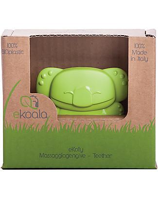 eKoala eKolly - Massaggiagengive Verde - Bioplastica Naturale, 100% Biodegradabile, Made in Italy Ciucci