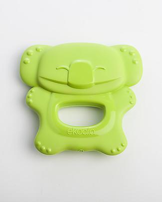 eKoala eKolly - Massaggiagengive Verde - Bioplastica Naturale, 100% Biodegradabile, Made in Italy null
