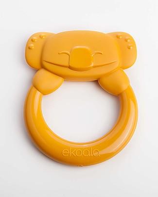 eKoala eKummy - Massaggiagengive ad Anello Arancione - Bioplastica Naturale, 100% Biodegradabile, Made in Italy Ciucci