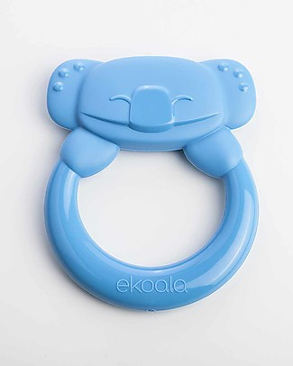 eKoala eKummy - Massaggiagengive ad Anello Azzurro - Bioplastica Naturale, 100% Biodegradabile, Made in Italy Ciucci