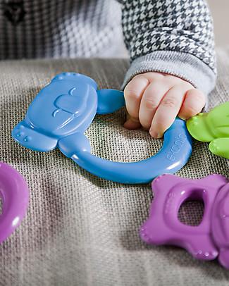 eKoala eKummy - Massaggiagengive ad Anello Azzurro - Bioplastica Naturale, 100% Biodegradabile, Made in Italy Ciucci