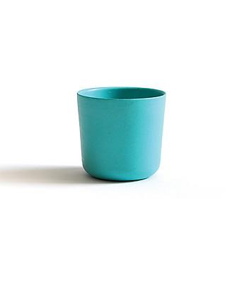 Ekobo Bicchiere Bambino/Gusto in Fibra di Bambù, Lagoon - Adatto a Mani piccole Tazze e Bicchieri