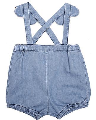 Emile et Ida Baby Salopette, Chambray - 100% cotone Pantaloni Corti