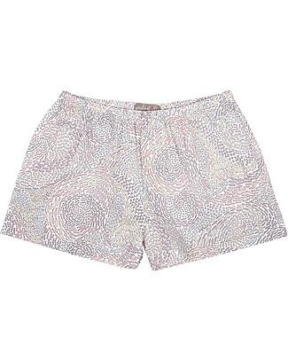 Emile et Ida Shorts Bimba, Pesci - 100% cotone Pantaloni Corti
