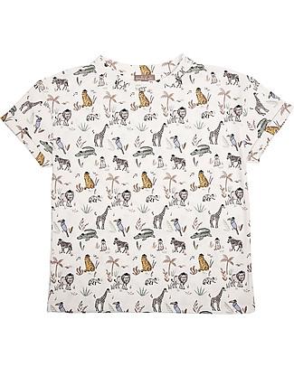 Emile et Ida T-Shirt Unisex, Animali - 100% cotone T-Shirt e Canotte